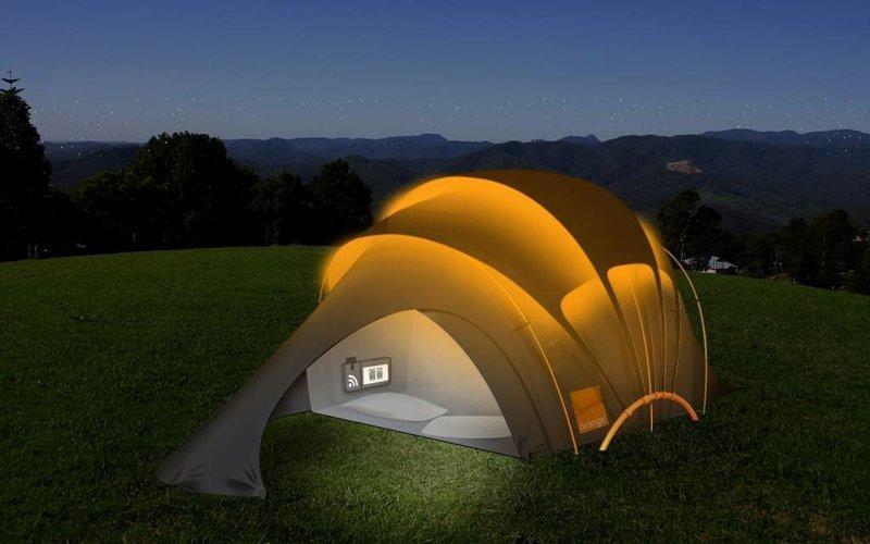 1. Солнечная палатка идеи, комфорт, отдых, палатка, природа, путешествие