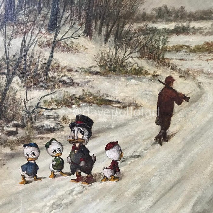 Художник скрестил классическую живопись и героев современной поп-классики герои мудьтфильмов, живопись, искусство, классика, масляные портреты, совместить несовместимое, творческий эксперимент, творчество