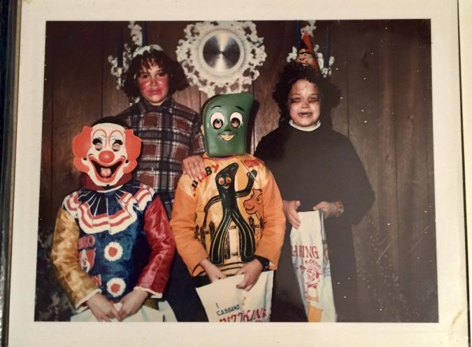 23. Хэллоуин в 60-х - безумен и беспощаден Жуткие фото, жуткое, подборка, странные фото, страшно, фото, фотошоп, шок