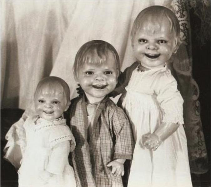 18. Куклы прямиком из глубин ада Жуткие фото, жуткое, подборка, странные фото, страшно, фото, фотошоп, шок