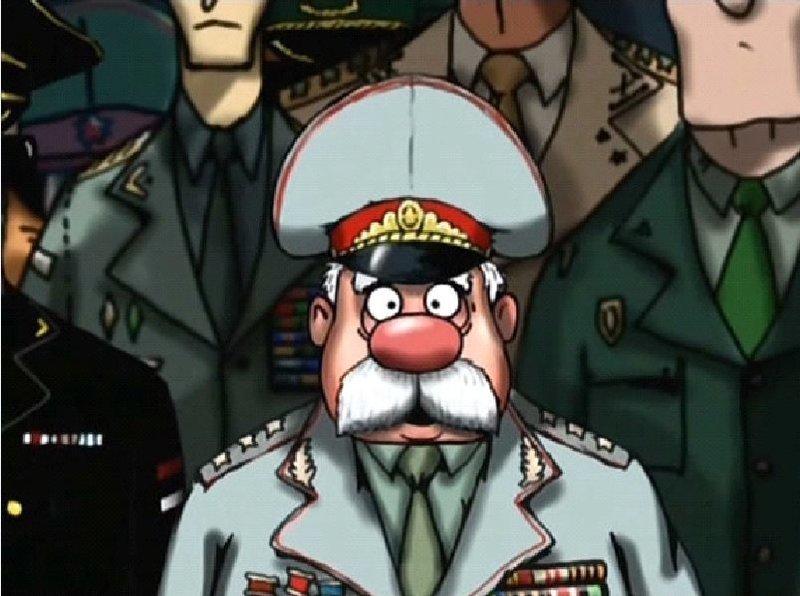 Открытку новым, генералы смешные картинки
