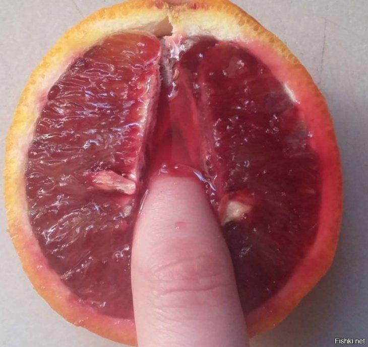 фрукты в разрезе как вагина фото свою