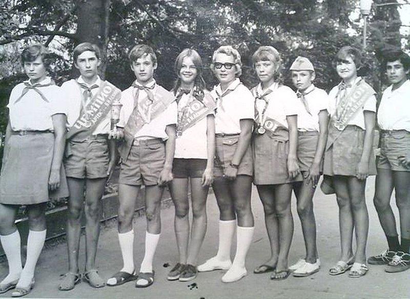 Артековцы. Элита пионерии. СССР, детство, фотографии