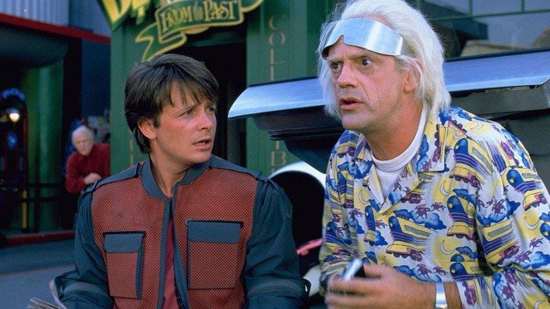 Назад в будущее Back To The Future Trilogy, 1985 интересно, кино, фильм