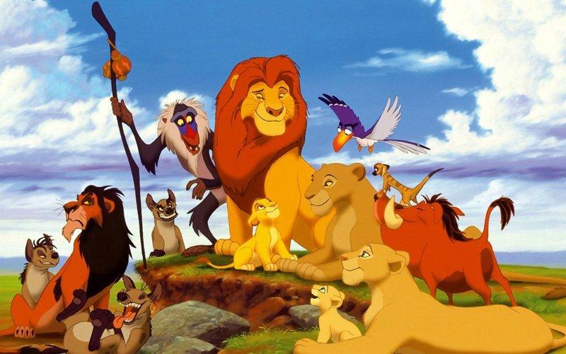 Король Лев (1994) интересно, кино, фильм