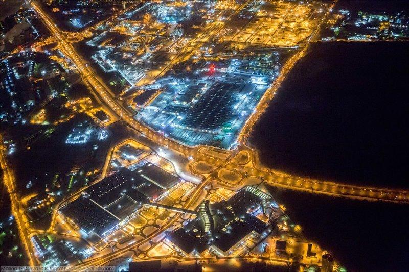 Москва с борта самолёта москва, с борта самолёта, фоторепортаж