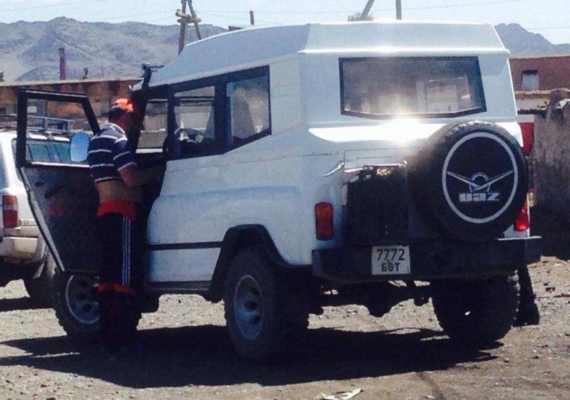 Монгольские УАЗики авто, монголия, уаз
