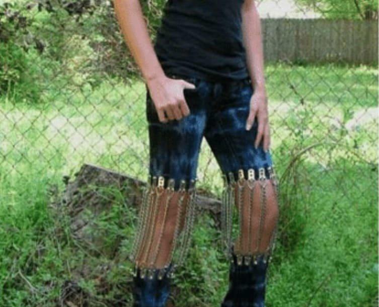 О, этот сексуальный металлический звон твоих коленок креатив, люди, мода, одежда, чудики, юмор