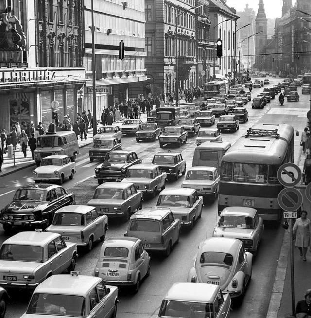 7. Венгрия в начале 1970-х годов было стало, интересно, история, пробки, пробки в москве тогда и сейчас, факты, фото