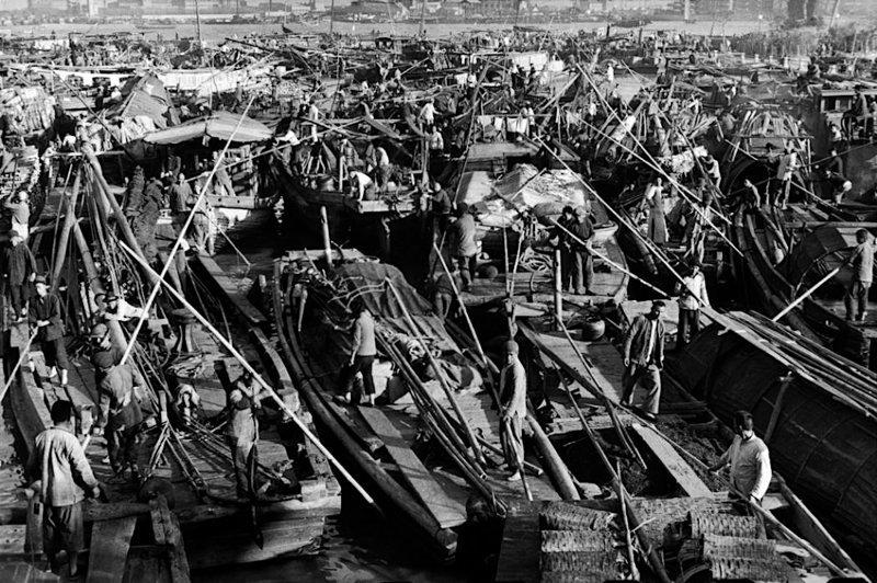 5. Сучжоуский канал, Китай, 1948 было стало, интересно, история, пробки, пробки в москве тогда и сейчас, факты, фото