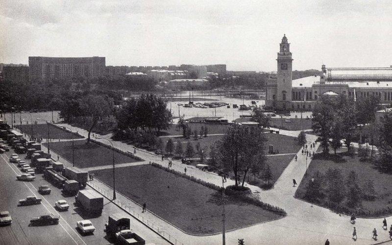 1982, площадь Киевского вокзала было стало, интересно, история, пробки, пробки в москве тогда и сейчас, факты, фото