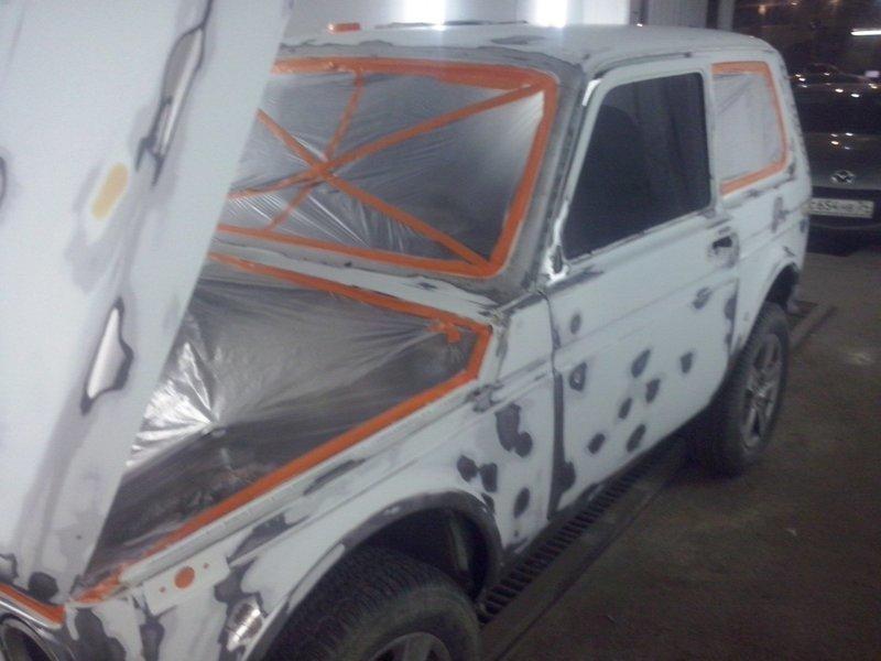 Для тех, кто не знает или кому интересно, как подготавливается машина к покраске авто, автосервис, покраска машины