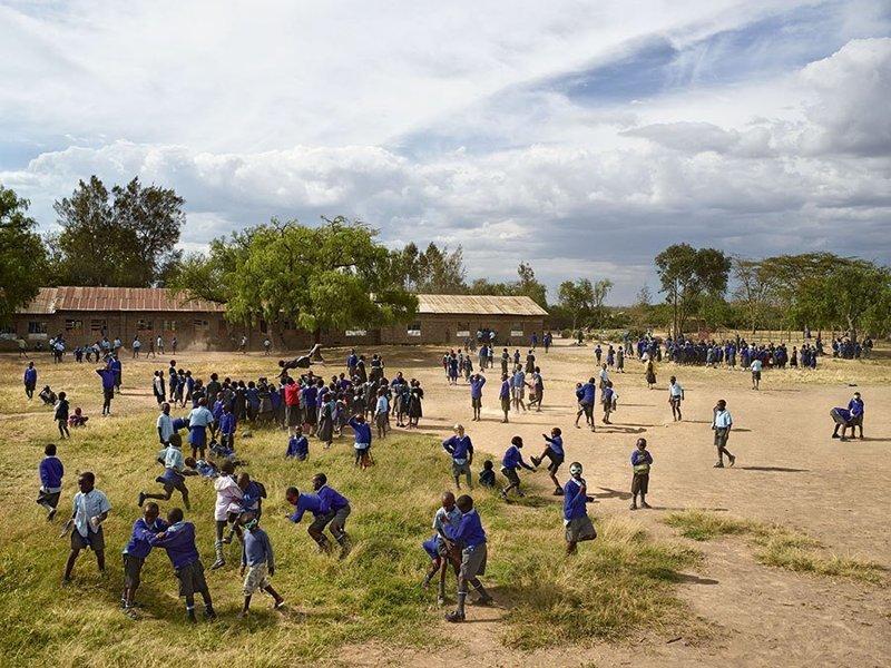 Manera Primary School, Найваша, Кения дети, игровые площадки, мир, путешествия, страны