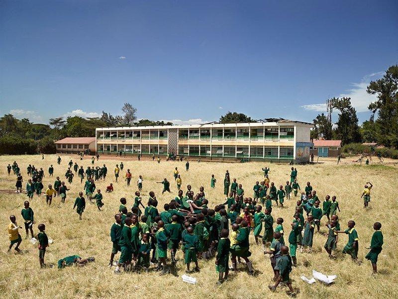 Kaloleni School, Найроби, Кения дети, игровые площадки, мир, путешествия, страны