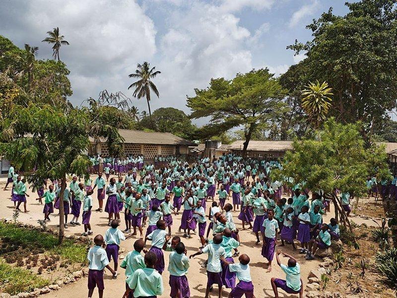 Freretown Community Primary School, Момбаса, Кения дети, игровые площадки, мир, путешествия, страны