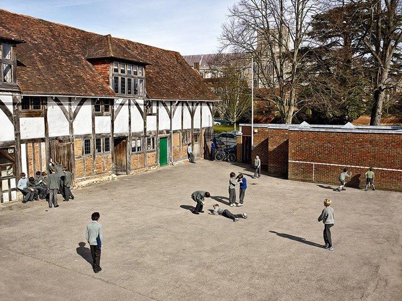 Piligrim's School, Винчестер, Англия дети, игровые площадки, мир, путешествия, страны