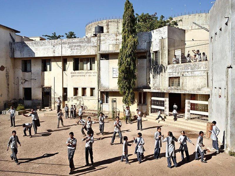 Virani Deaf and Dumb School, Гуджарат, Индия дети, игровые площадки, мир, путешествия, страны