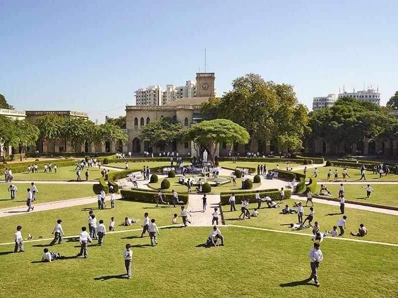Rajkumar College, Гуджарат, Индия дети, игровые площадки, мир, путешествия, страны