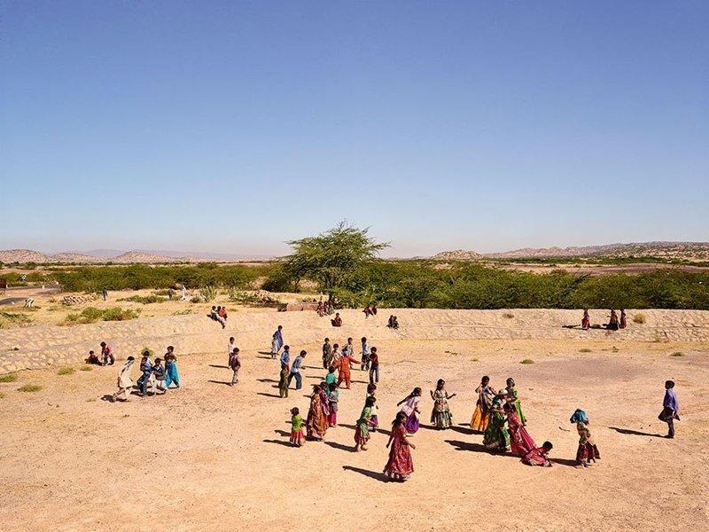 Gram Panchayat School, Гуджарат, Индия дети, игровые площадки, мир, путешествия, страны