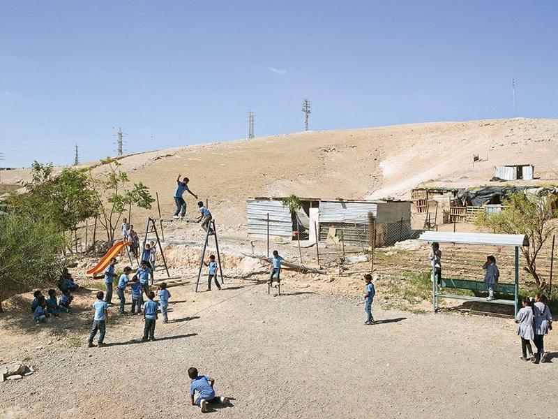 Al Khan Al Ahmar Primary School, Иерихон, Западный берег реки Иордан дети, игровые площадки, мир, путешествия, страны
