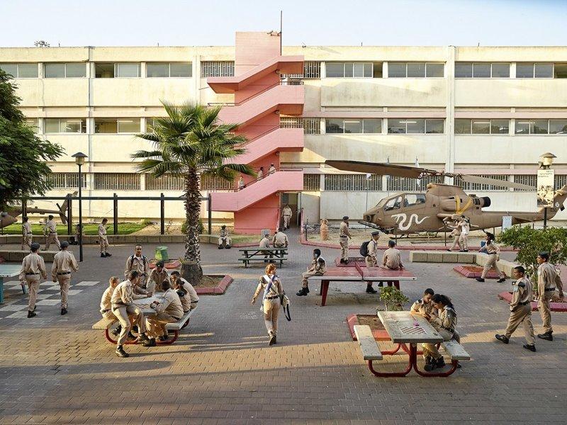 Holtz High School, Тель-Авив, Израиль дети, игровые площадки, мир, путешествия, страны