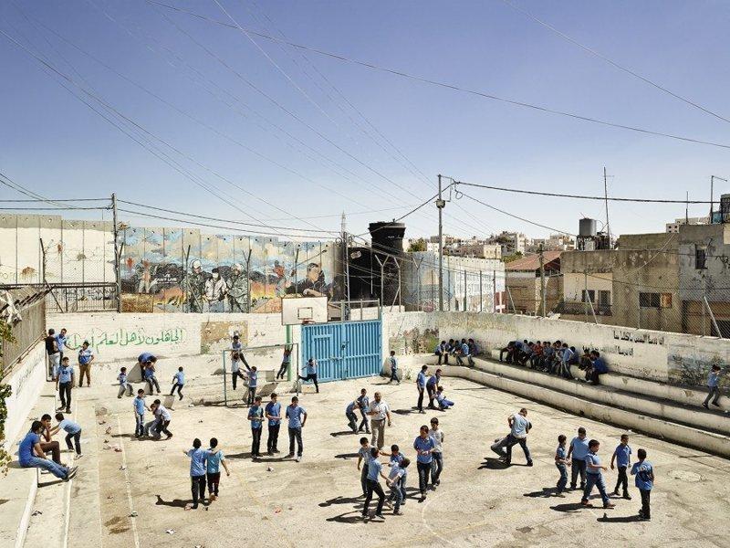 Aida Boys School, Вифлеем, Западный берег реки Иордан дети, игровые площадки, мир, путешествия, страны