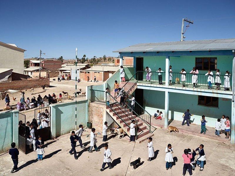 Thako Pampa School, Сукре, Боливия дети, игровые площадки, мир, путешествия, страны