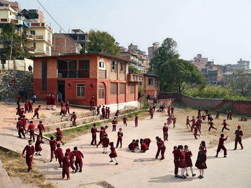 Open Day Primary School, Катманду, Непал дети, игровые площадки, мир, путешествия, страны