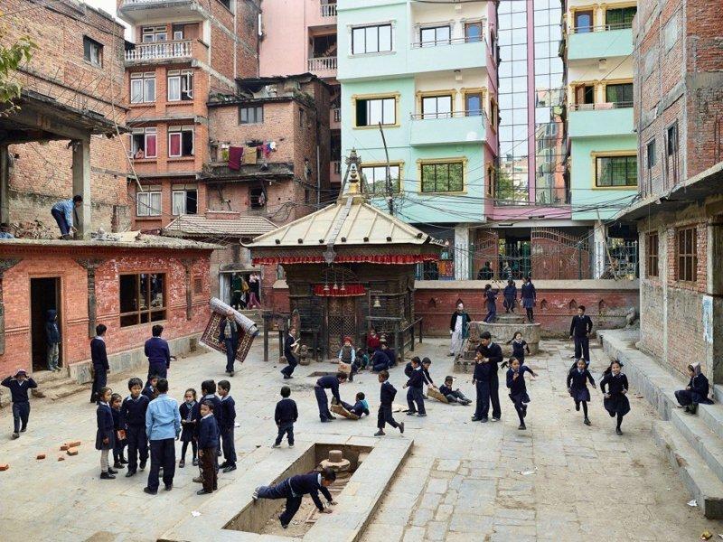 Bhakta Vidyashram, Катманду, Непал дети, игровые площадки, мир, путешествия, страны