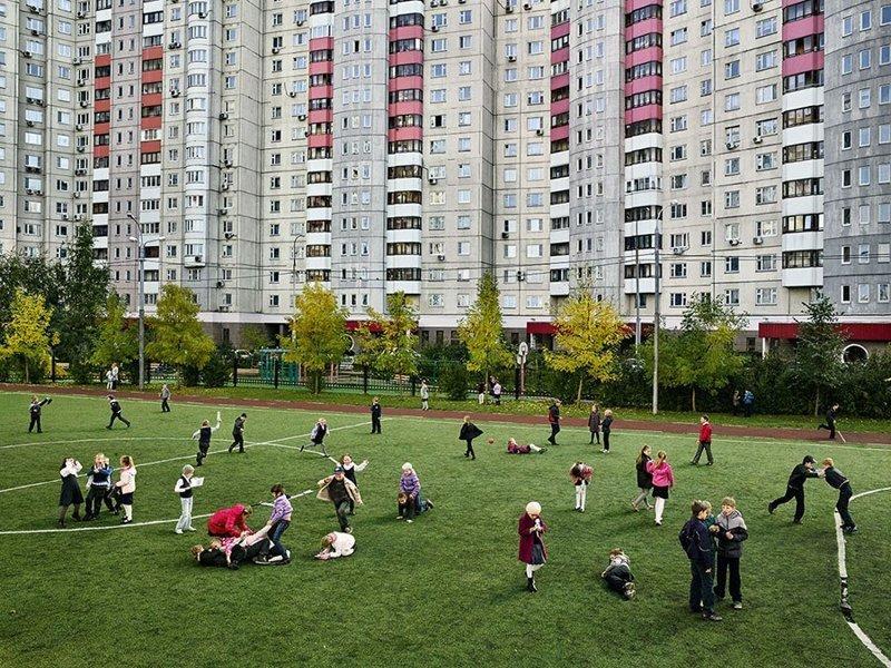 Средняя школа №2013, Москва, Россия дети, игровые площадки, мир, путешествия, страны