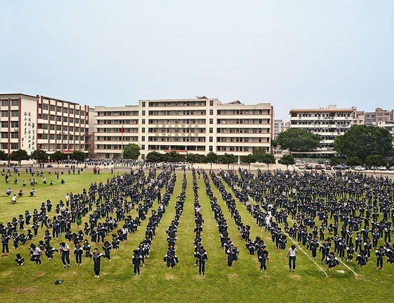 He Huang Yu Xiang Middle School, Циньюань, Китай дети, игровые площадки, мир, путешествия, страны