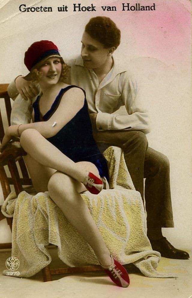 Как мужчины выражали любовь в начале 20-го века Любовь, люди, милота, открытки, отношение, ретро