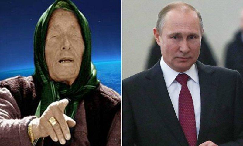 """""""Путин будет править миром?"""" Западных СМИ напугали слова Ванги о будущем Путина Ванга о России, ванга, владимир путин, предсказание, президент, пророчества, путин, россия"""