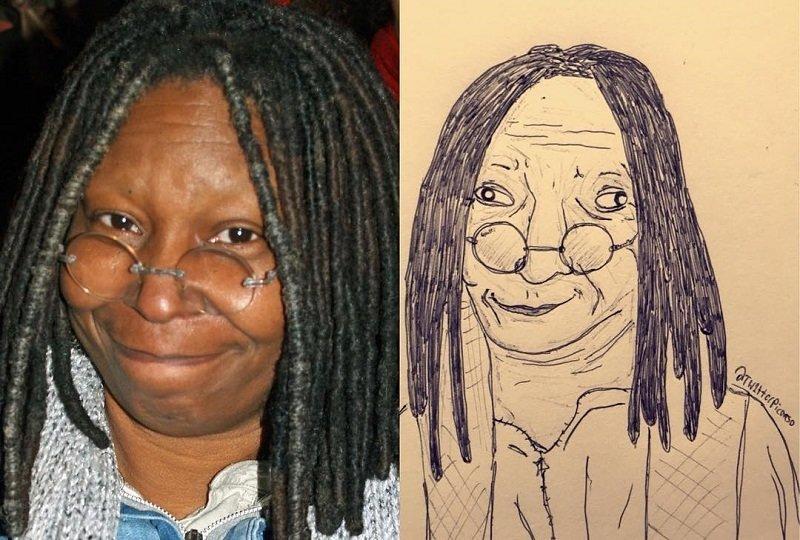 Карикатурист нещадно высмеивает музыкантов в своих работах знаменитости, карикатура, музыканты, рисунок, юмор