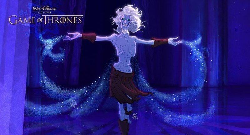 """Белый Ходок """"Игра престолов"""", disney, герой, иллюстрация, персонаж, сериал, художник"""