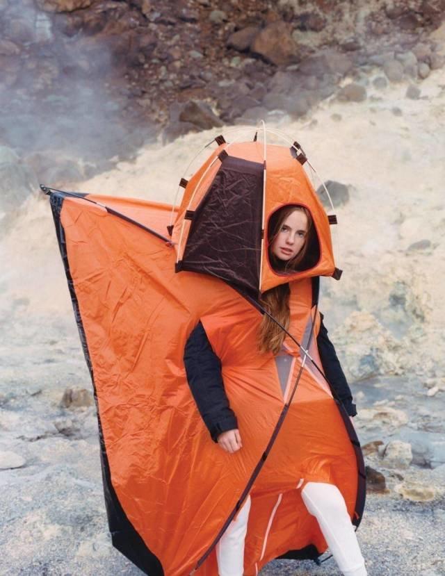 """Наряд """"Палатка"""" день, животные, кадр, люди, мир, снимок, фото, фотоподборка"""