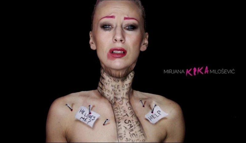 Визажист создаёт на своём теле невероятные оптические иллюзии с помощью одного только мейк-апа визажист, грим, макияж, мейк-ап, оптическая иллюзия, рисунок