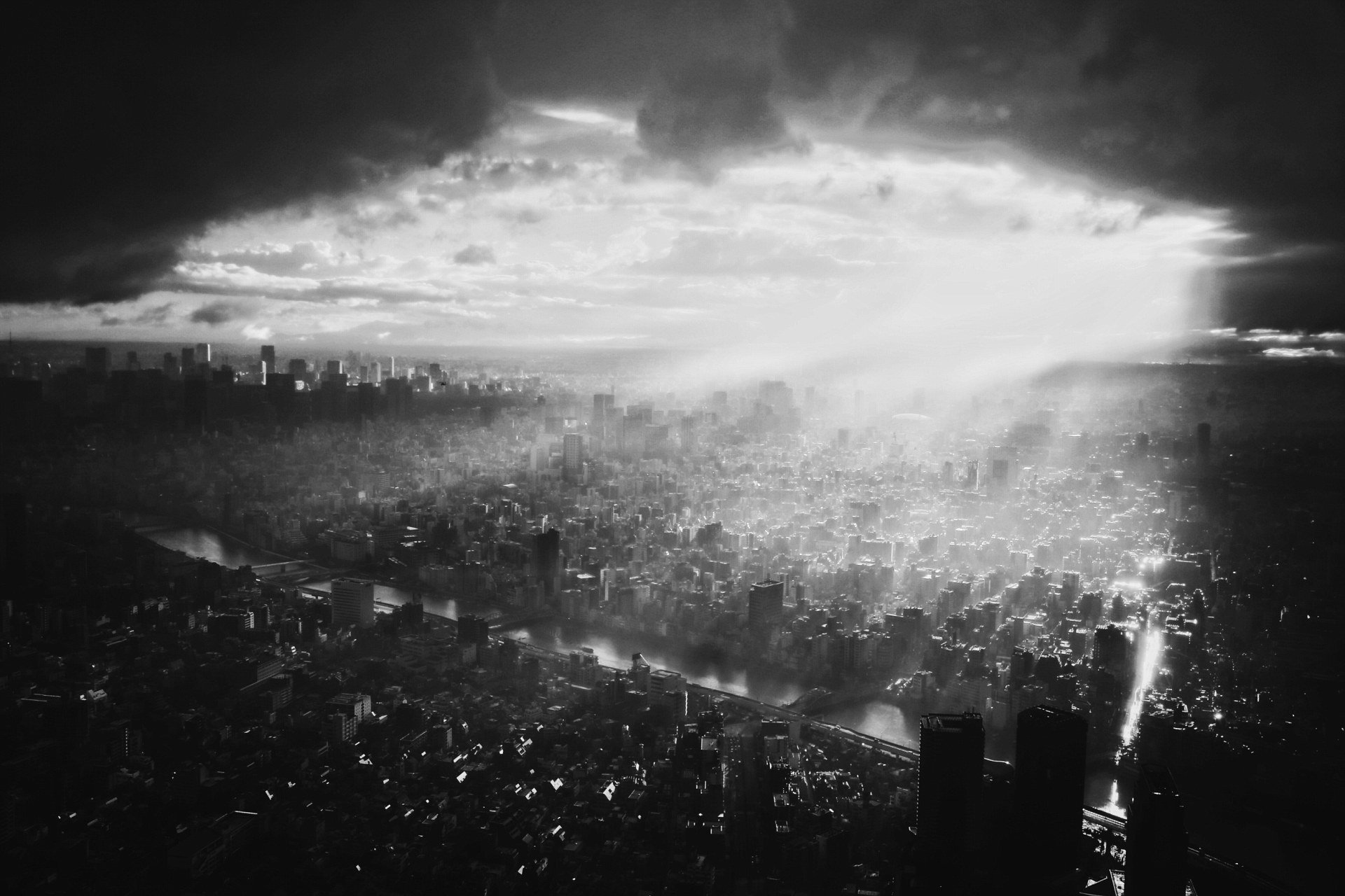 После тайфуна, Токио. Фотограф - Чжаотин Ву Sony World Photography, Sony World Photography Awards 2018, лауреаты, лучшие фото, лучшие фотографии, победители, победители конкурса, фотоконкурс