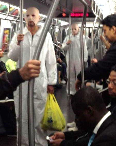 25. Страшно.... курьез, метро, странные люди, флеш моб, фрики, юмор