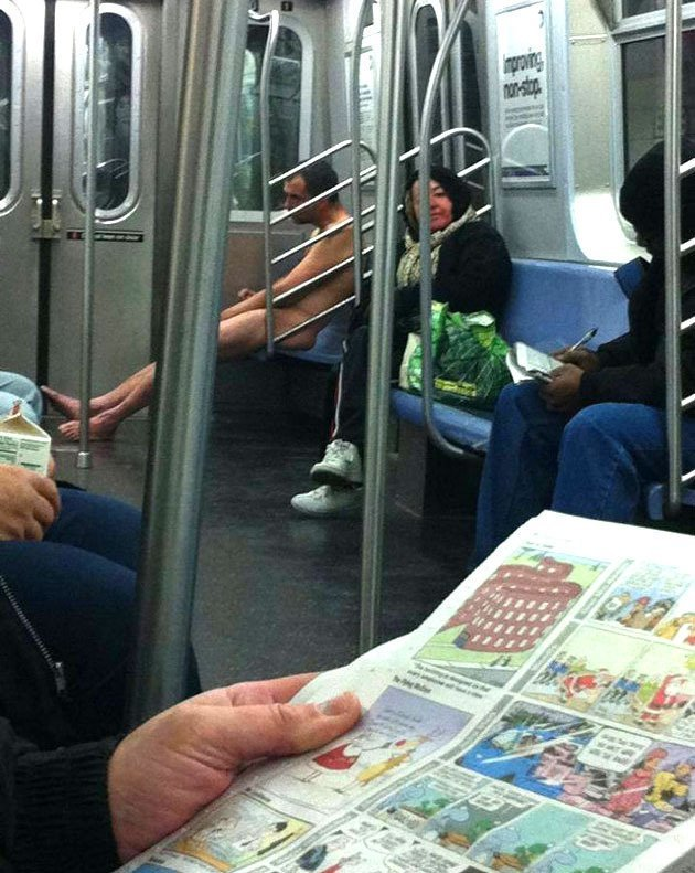 3. Жара.... курьез, метро, странные люди, флеш моб, фрики, юмор