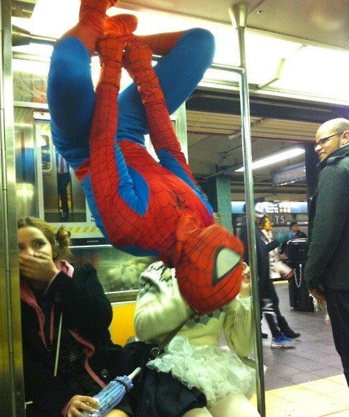 4. Встреча с кумиром курьез, метро, странные люди, флеш моб, фрики, юмор