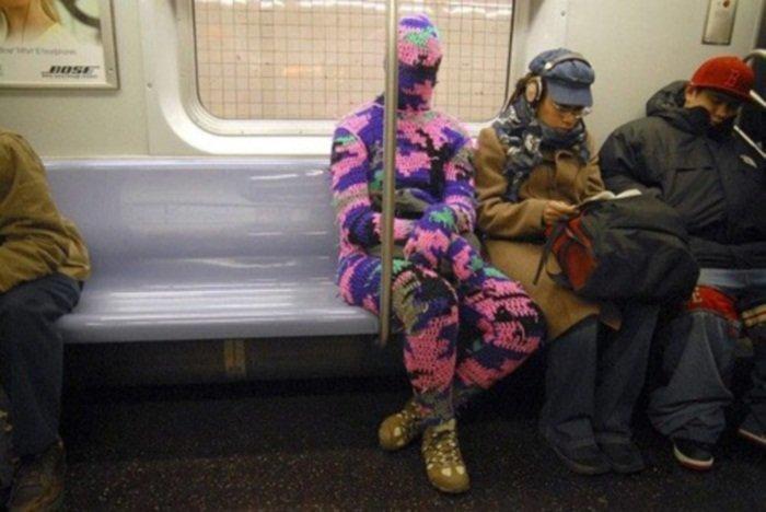 5. Тепло и уютно курьез, метро, странные люди, флеш моб, фрики, юмор