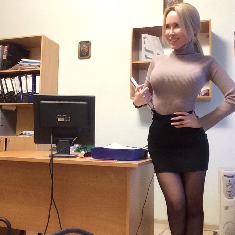 Amateur young teacher 6