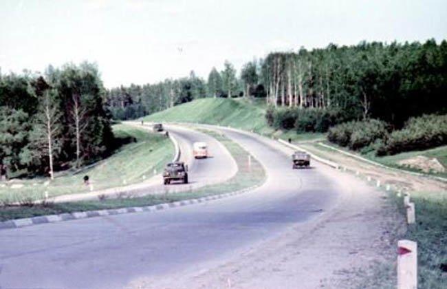МКАД, север 1972 г. СССР, ностальгия, улицы Москвы