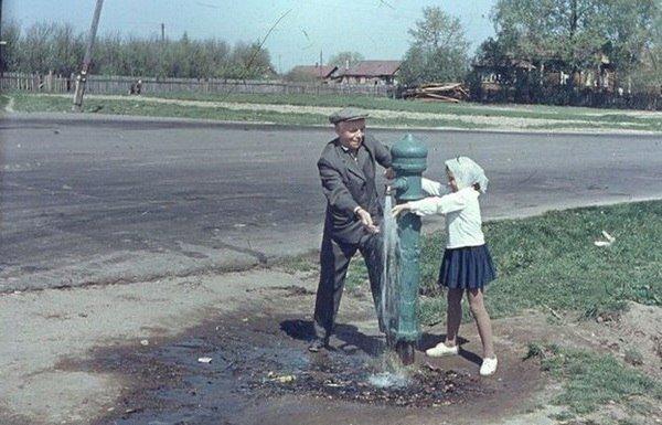 Строгино, 1960-65г. СССР, ностальгия, улицы Москвы