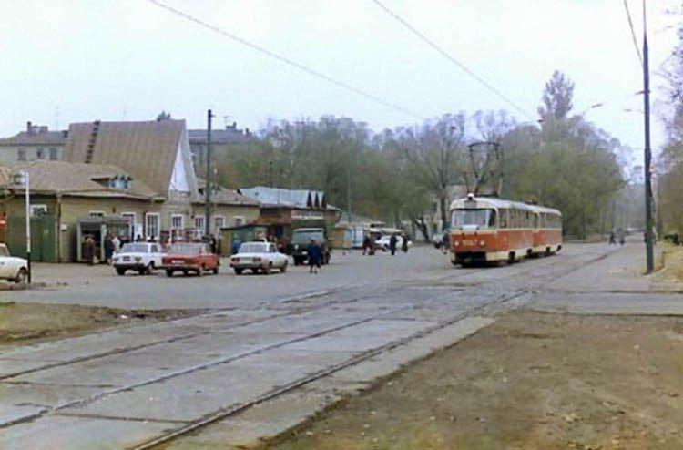 Коптевский рынок 1985г СССР, ностальгия, улицы Москвы