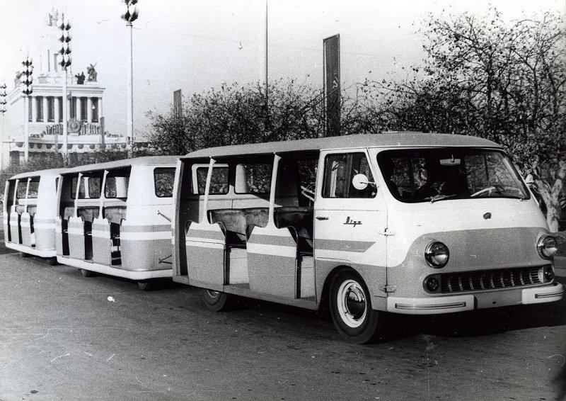 ВДНХ СССР. РАФ-980Д/979 – «Рига» . 1962-1969гг. СССР, ностальгия, улицы Москвы