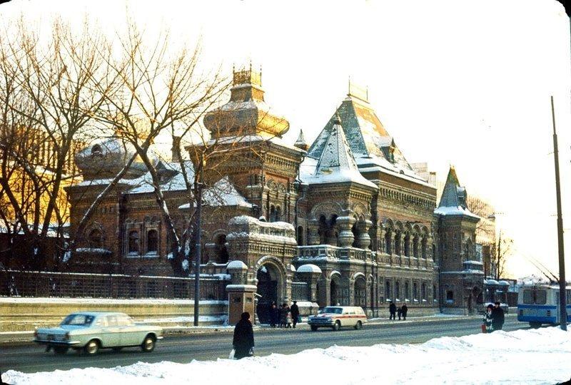 Улица Димитрова (Большая Якиманка). 1979-1981гг. СССР, ностальгия, улицы Москвы