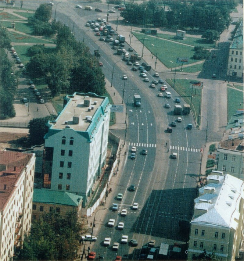 Преображенская улица 1996—1997гг. СССР, ностальгия, улицы Москвы