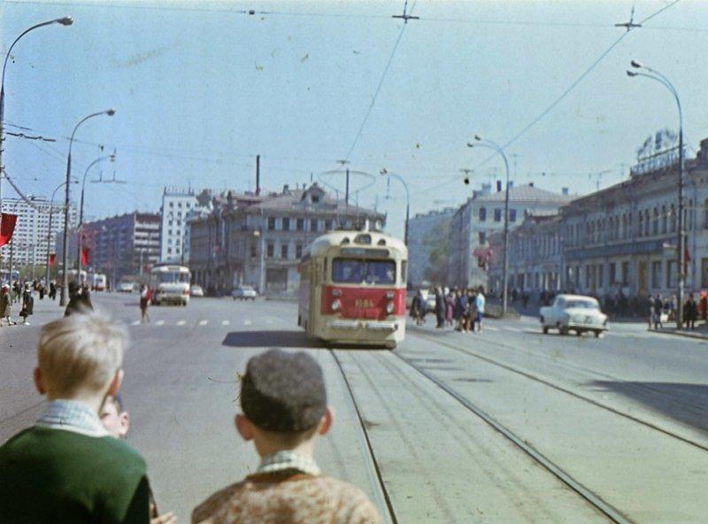 Преображенская площадь.  1970-1973г. СССР, ностальгия, улицы Москвы